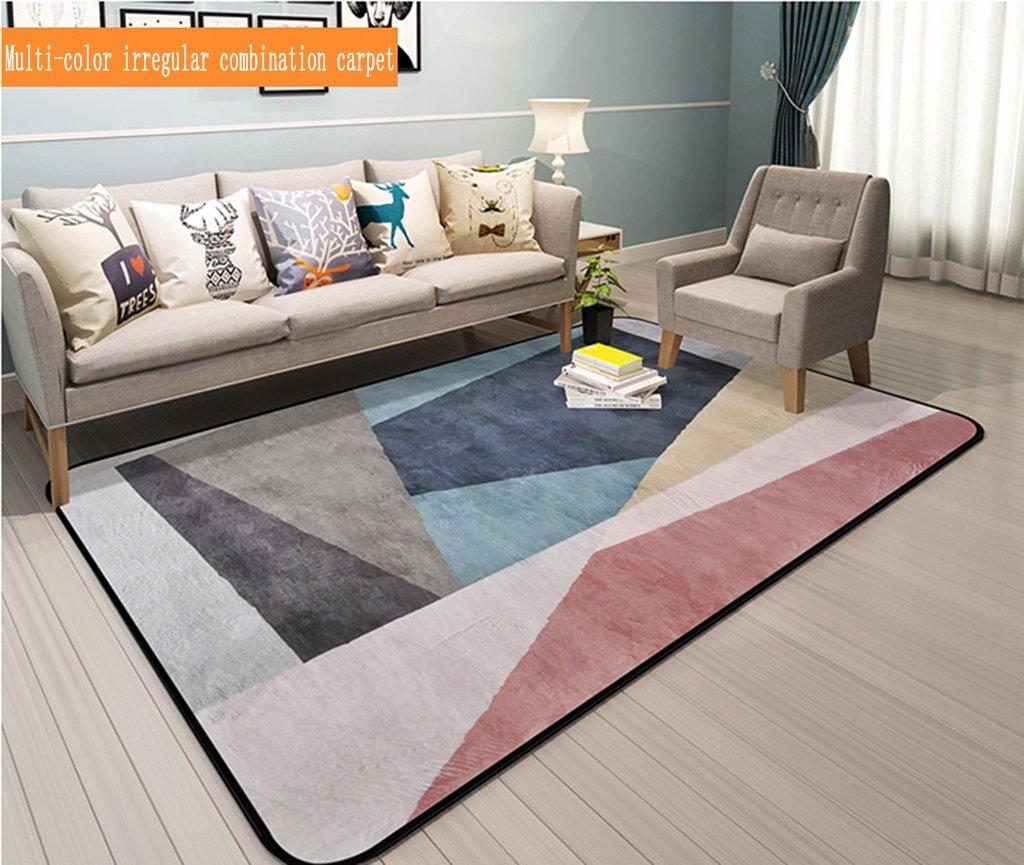 Carpet Creative Children Room Spiderman Rugs Bedroom Living Room Personality Cartoon Anime Bedside Blanket Bay Window Bathroom Mat 120cm*160cm
