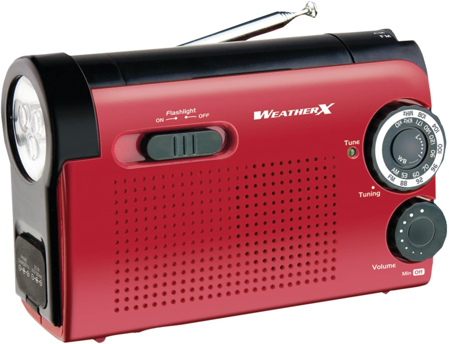 Weatherx WeatherX WR182R Instant NOAA Weatherband Radio (Black)