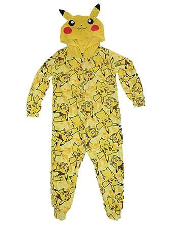 566df879b7 Amazon.com  Pokemon Pikachu Boys Union Suit Pajamas 4-16 (M (8 ...