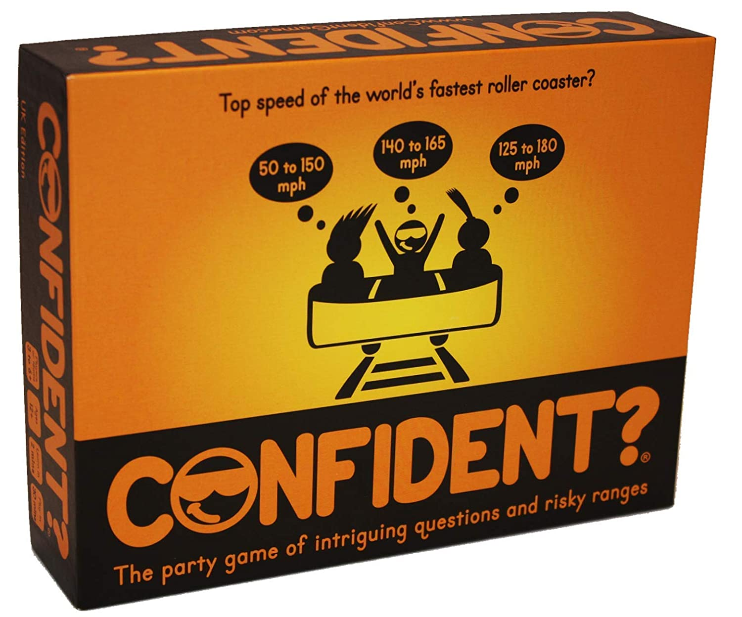 CONFIDENT? - The Thrilling Trivia Board Game with an OutRANGEous Twist Confident Games