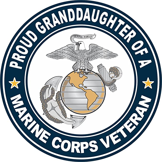 USMC Marine Corps Vinyl Decal Sticker Semper FI Soldier Veteran Military Proud