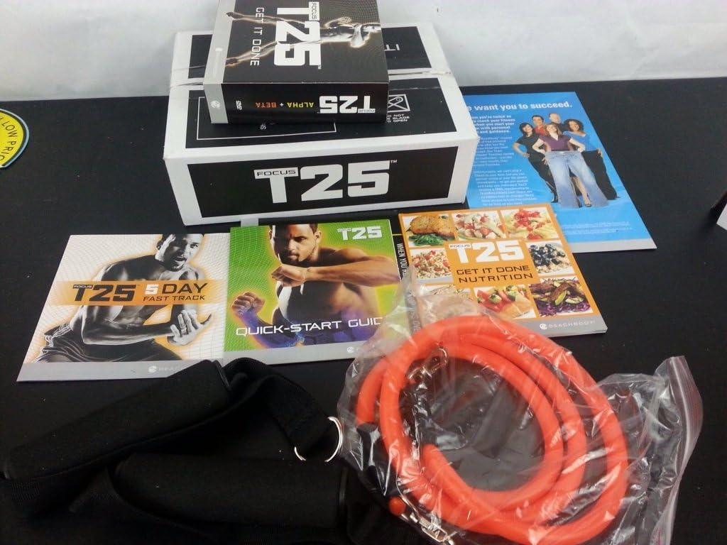 Marca nuevo Focus T25 DVD programa de entrenamiento con