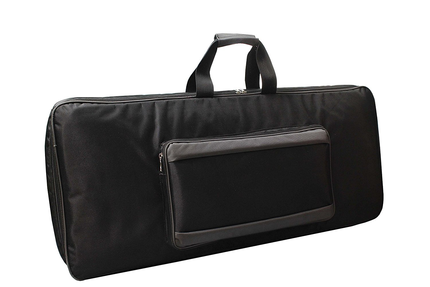 Baritone Distribution Case For Yamaha Case For P125 88-Key Keyboard Padded Sponge Black Bag Novation MiniNova 37