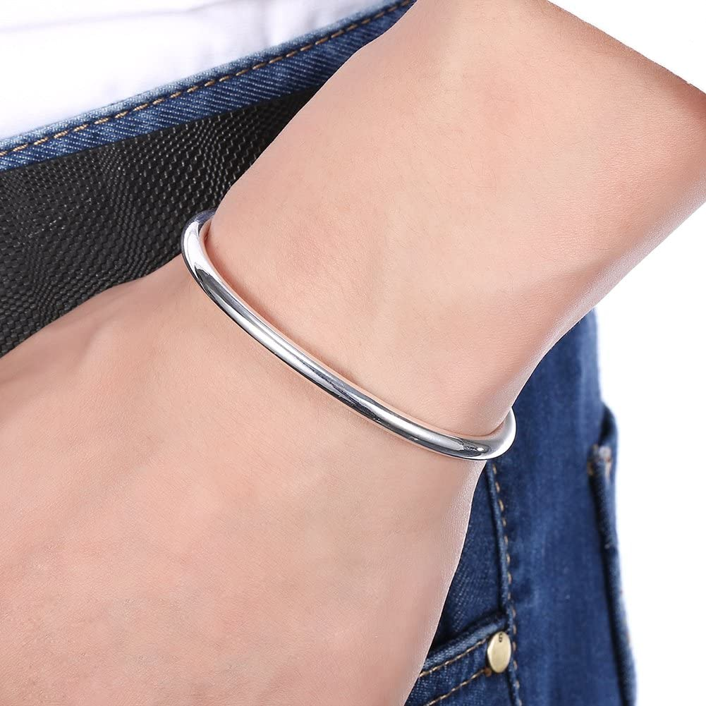 925 Sterling Set Of Round Bangles Set of 5 Silver Bangles Holiday Gifts Womens Bangles Gifts For Her WB303 Handmade Solid Bangles