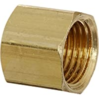 10 Pack Brass Anderson Metals 54714-06 3//8 Short Flare Nut