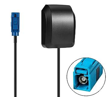 Blizim Coche GPS Activa Antena 28dB con Fakra Conector: Amazon.es ...