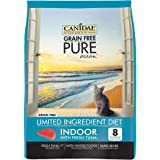 Canidae Grain Free Pure Ocean Indoor Cat Dry Formula with Fresh Tuna, 10 Lbs