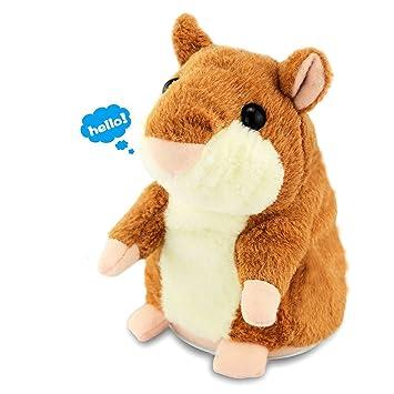 Amazon Com Anyback Electronic Stuffed Talking Plush Animals Pets
