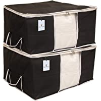 Kuber Industries Non Woven Underbed Storage Bag Set, Extra Large