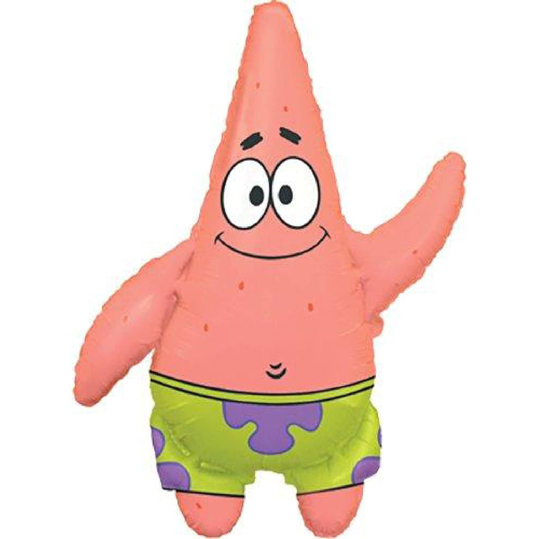 Amazon.com: Spongebob Squarepants Patrick Jumbo Mylar ...