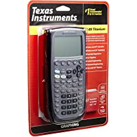 Texas Instrument Ti 89 Titanium Programmable Graphing Calculator (Renewed)