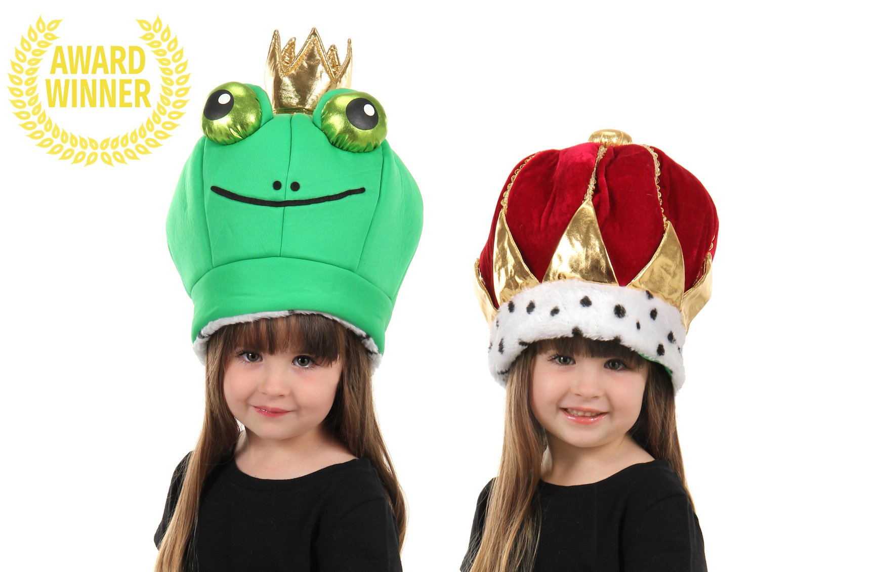 elope Frog Prince Reversible Plush Hat by