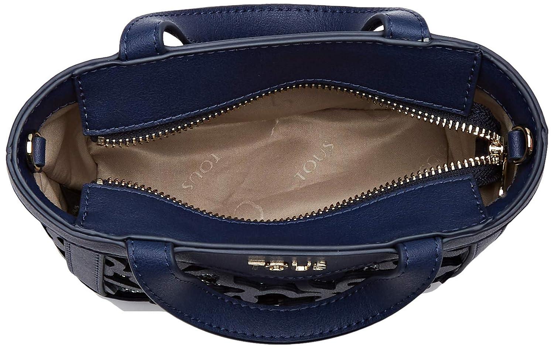 Borsa tote donna Blu Blu W x H x L Tous 995890497 MARINO 505 15x12x7 cm