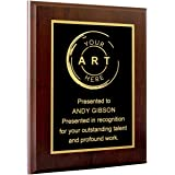 Personalized Engraved Plaques and Awards. Great for Retirement, Thank You, Military Recognition, Special Achievements, Memori