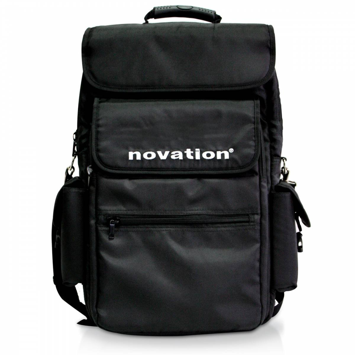 Novation 25 Backpack-Style Soft Carry Case for 25-Key MIDI Controller Keyboards, Black