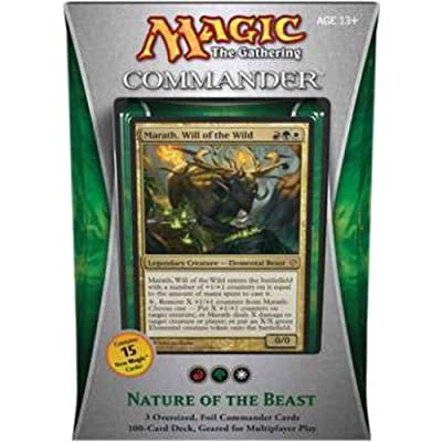 Magic the Gathering - Commander 2013 - Nature of the Beast Deck: Toys & Games