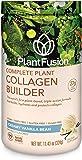 PlantFusion Collagen Builder Plant Based Peptides Protein Powder | Vegan Collagen Supplement |Collagen Building, Skin…