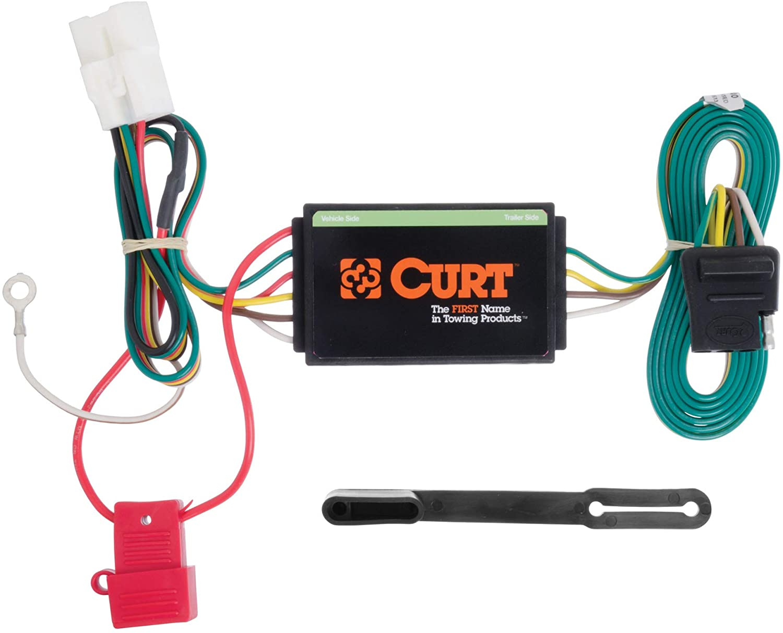 2011 subaru outback wiring harness amazon com curt 56040 vehicle side custom 4 pin trailer wiring  amazon com curt 56040 vehicle side