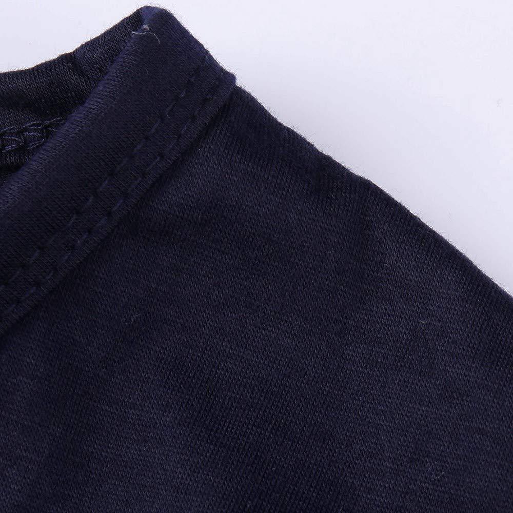 BYSTE Pigiami Famiglia Coordinati Manica Lunga Orso di Natale Pigiama Top Fiocco di Neve Pantaloni Pajama Set per Bambini di Famiglia pap/à Mamma