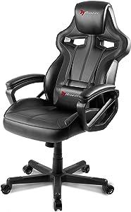 Arozzi Milano Enhanced Gaming Chair, Black