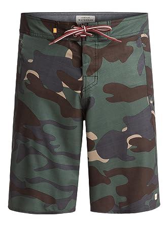 "ba81e5044a Quiksilver Waterman Paddler 20"" - Board Shorts - Men - 40 - Green"