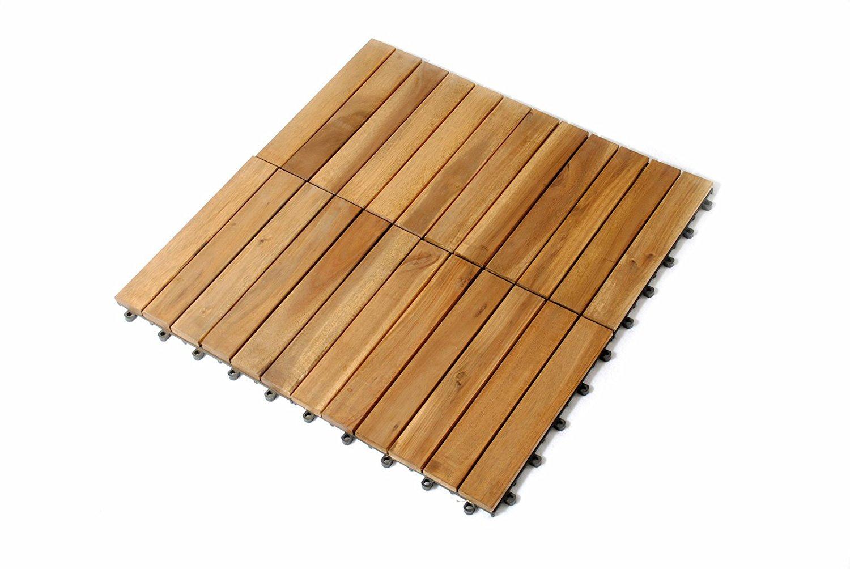 Ganz und zu Extrem SAM Terrassenfliese 01 Akazienholz, Einzelfliese, FSC® 100 &JZ_64