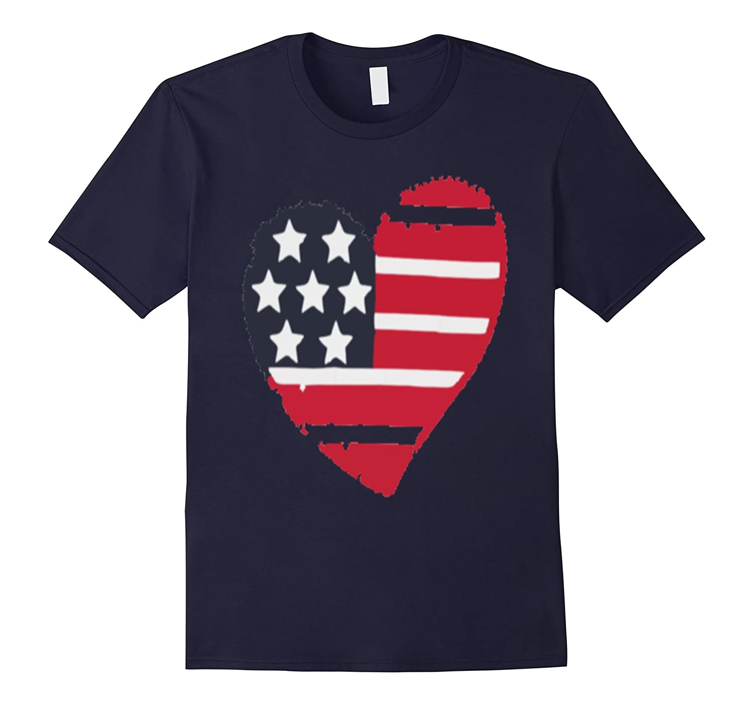 A Heart Patriotic - Classic  Fit T Tee Shirt.-BN