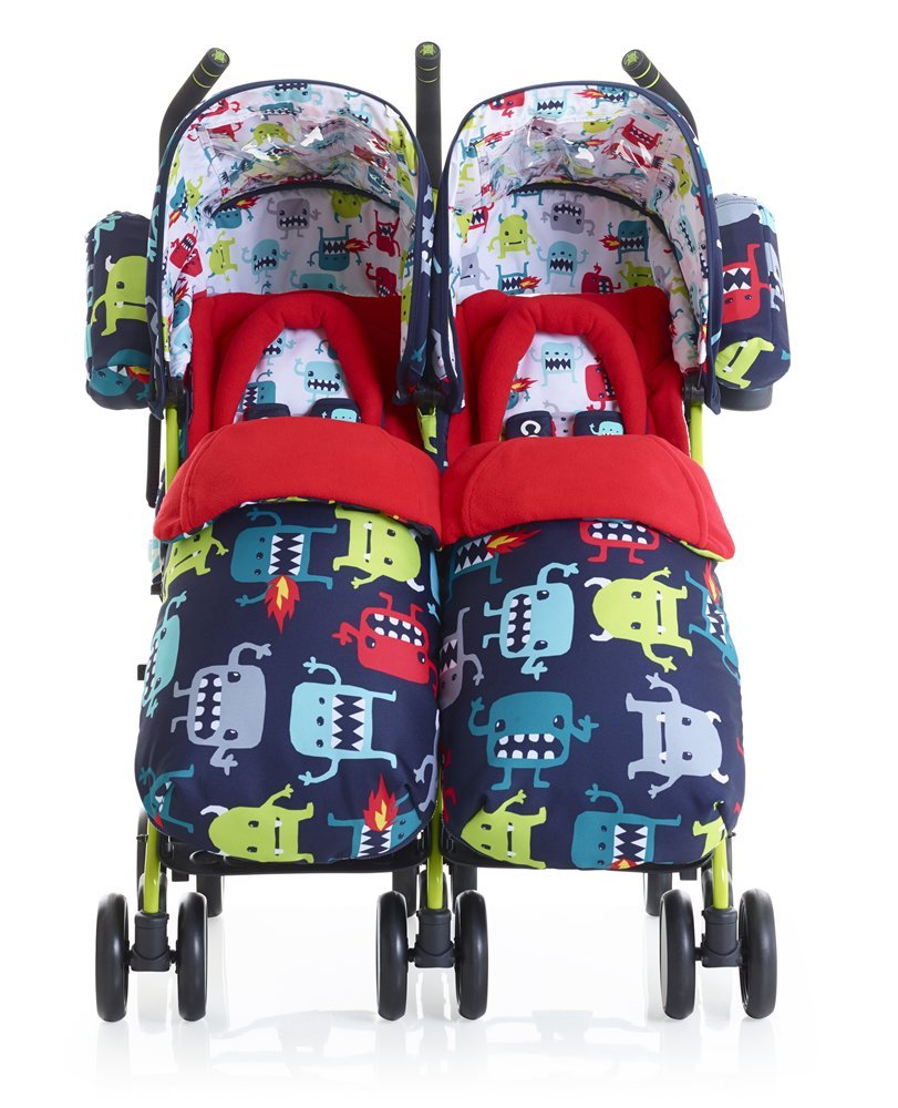 Cosatto Supa Dupa Twin Stroller azul azul: Amazon.es: Bebé