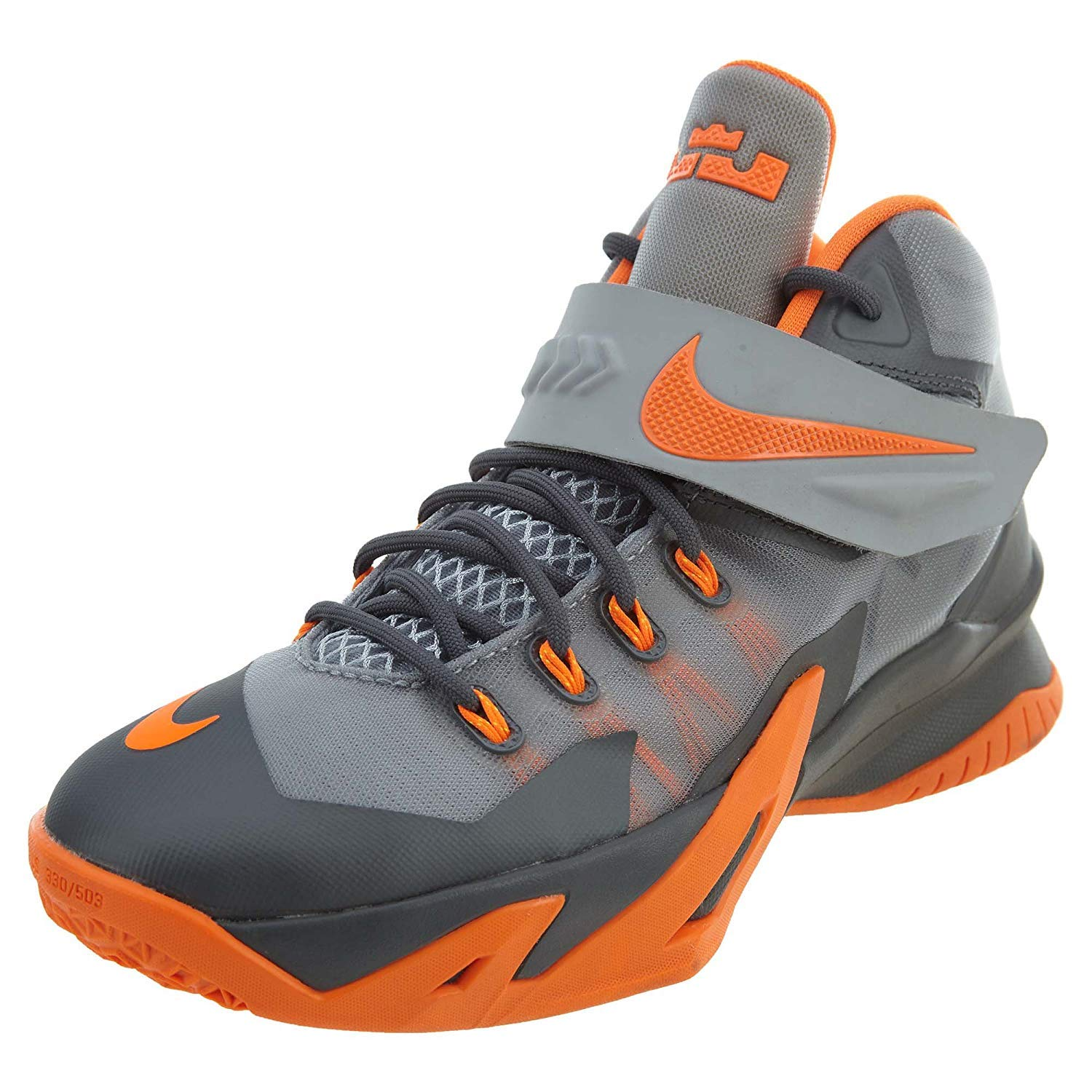 on sale 1385a 6134e Soldier Viii Gs 8 Lebron James Youth Basketball Shoes 653645-010 (6y)   Amazon.co.uk  Shoes   Bags