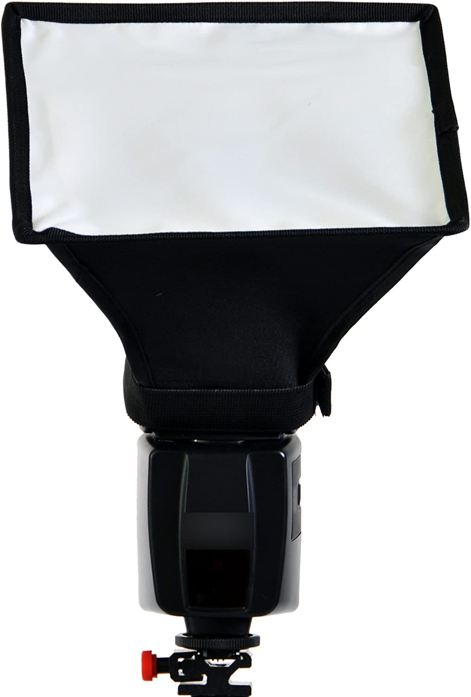 CowboyStudio MF-158 Portable Universal Photo Flash Diffuser Softbox for Speedlights 6 x 8 Inches