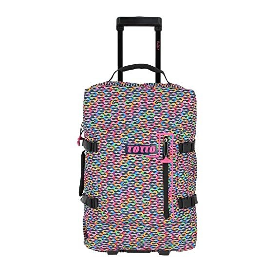 Amazon.com | TOTTO Unisex-Adults Suitcase, Multicolour ...