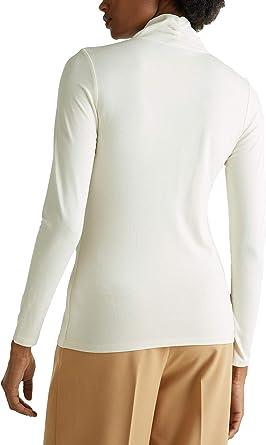 nuevo Edc esprit camisa talla L hasta XL blanco con puntos 557
