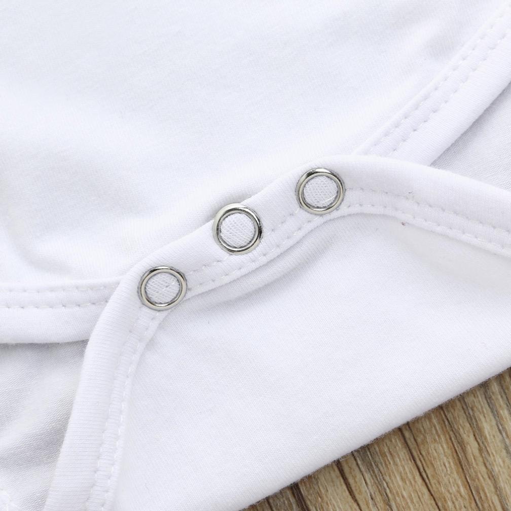 diadema conjunto ropa trajes Ropa Beb/é Verano ❤️ Amlaiworld 3Pcs Reci/én nacido beb/é ni/ñas mameluco mono pantalones cortos