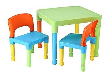 Tavoli Da Gioco Per Bambini : Liberty house toys tavolo da gioco per bambini con 2 sedie in