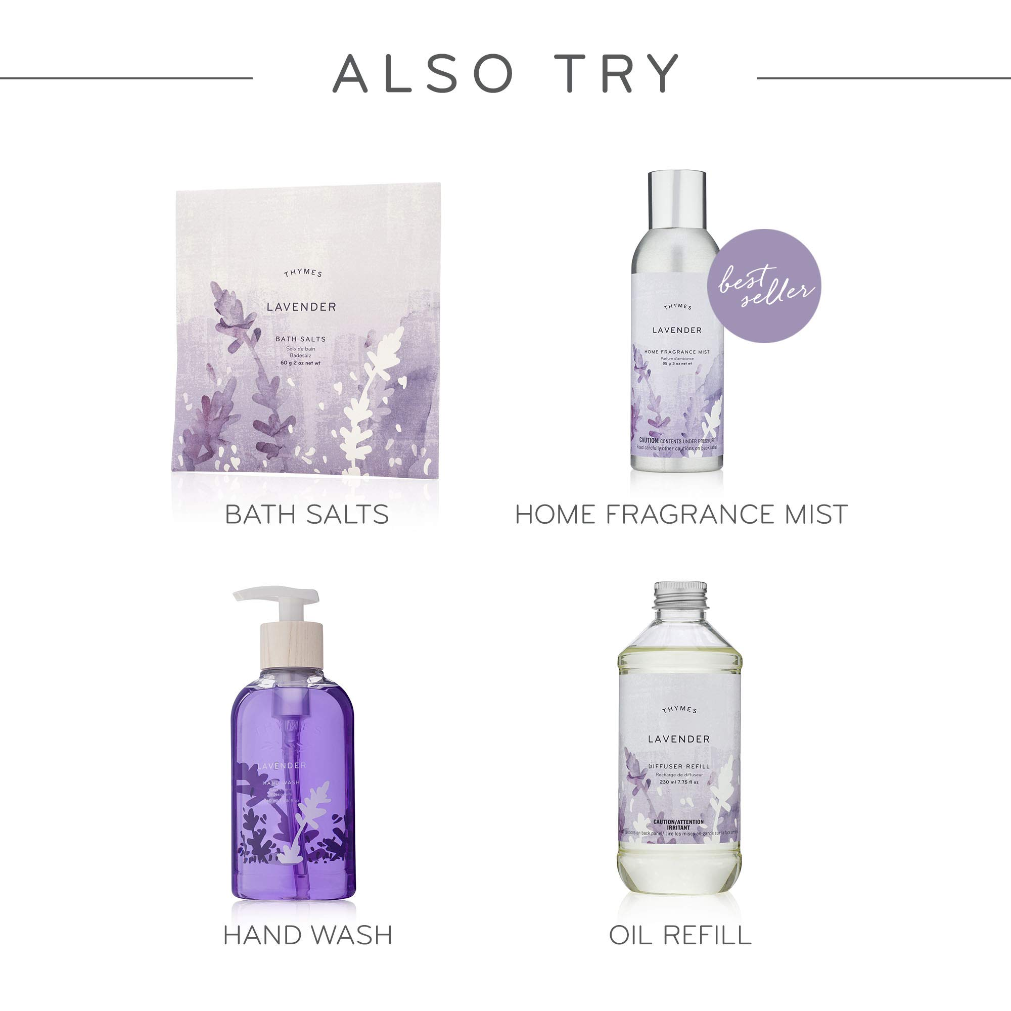 Thymes - Lavender Hand Lotion with Pump - 8.25 oz by Thymes (Image #5)