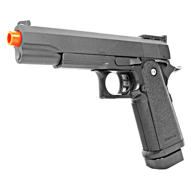 25bdd7f4bba1 Amazon.com : BBTac Airsoft Pistol 1911 G6 Airsoft Gun Spring Powered 300  FPS, Metal Alloy Construction : Sports & Outdoors