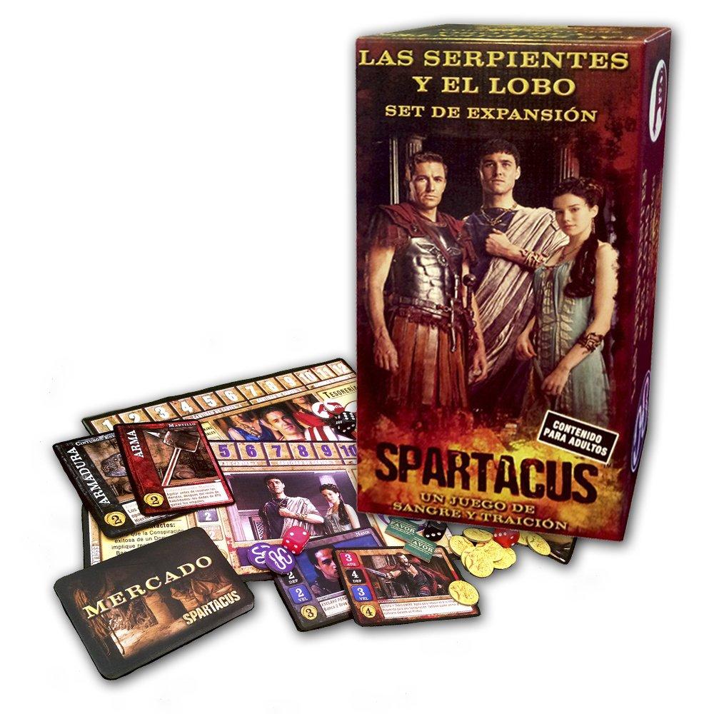 Devir - Spartacus Las Serpientes y el Lobo, juego de mesa ...