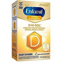 Enfamil Baby Vitamin D-Vi-Sol Vitamin D Liquid Supplement Drops for Infants, Supporting Strong Teeth & bones in Newborn…