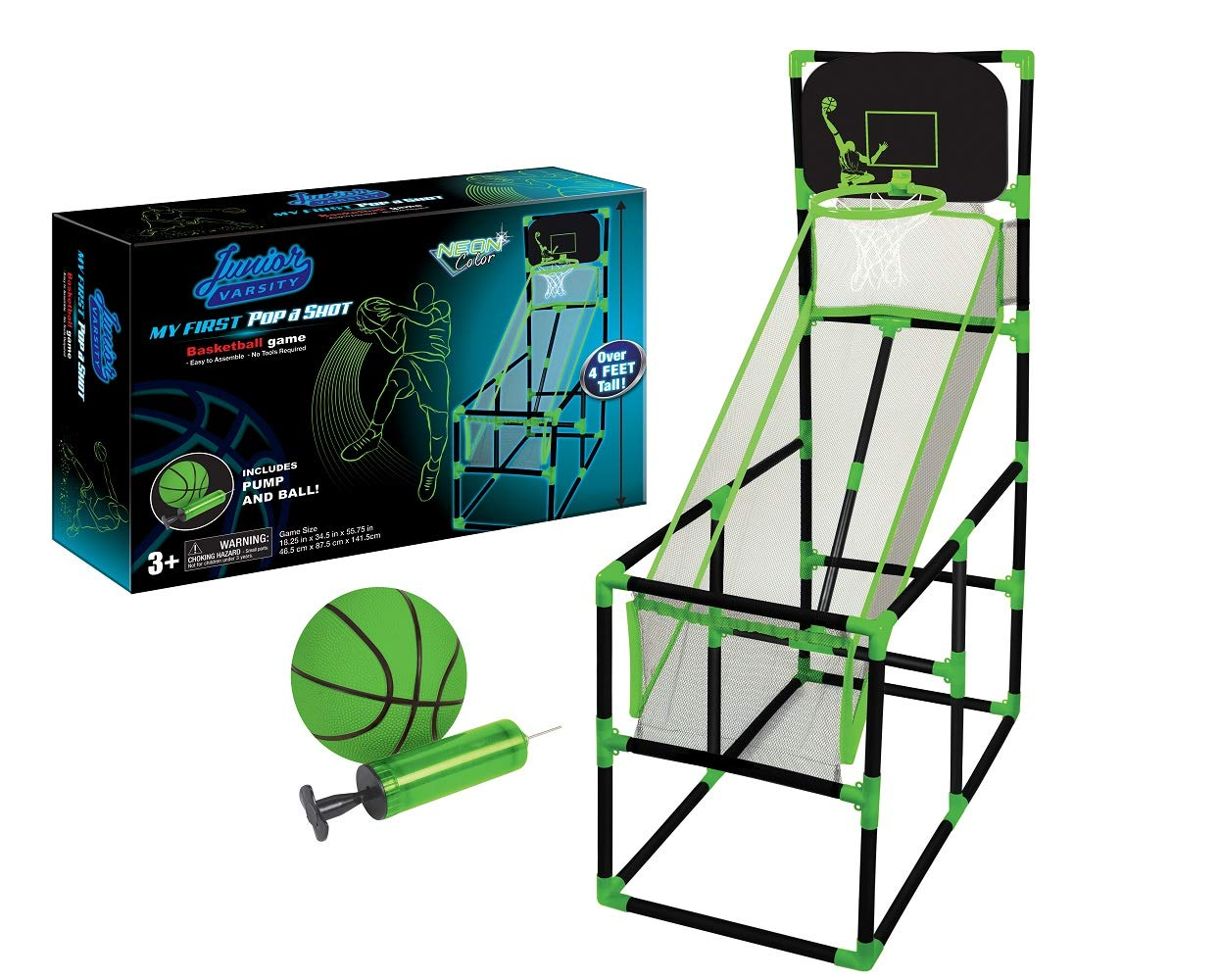 Home-X - Pop a Shot Portable/Training Basketball Game Kids Beginner Basketball Player, Easy Set Up Perfect Your Rec Room Child's Bedroom. by Home-X