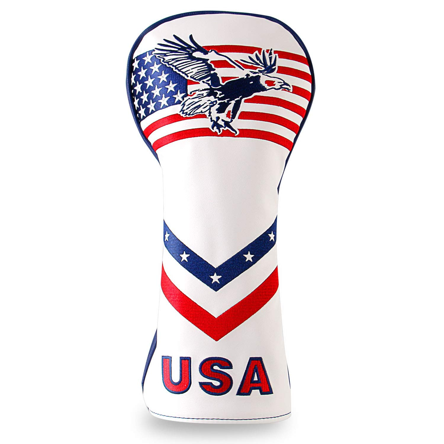 Montela Golf USA Eagle Driver Covers for 460cc Golf Headcovers Callaway Titleist Taylormade