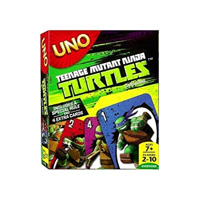 UNO - Teenage Mutant Ninja Turtles: Toys & Games