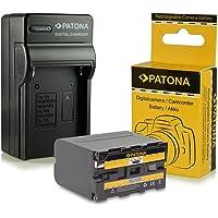 Cargador + Batería NP-F970 NPF970 para Sony Camcorder Sony CCD-TR Series | CCD-TRV Series | Sony DCR-TR Series | Sony DCS-CD | Sony MVC-FD Series y mucho más…