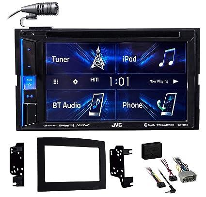 Amazon com: JVC DVD Player Monitor w/Bluetooth/USB/iPhone