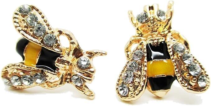 Pair of Bumblebee Earrings Bumblebee Earrings
