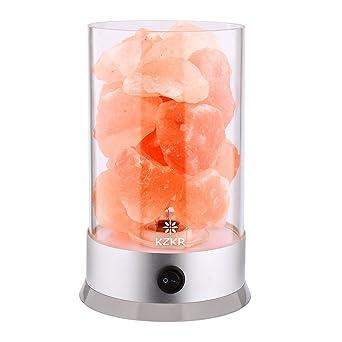 Lampe De Sel Himalaya En Cristal Naturelle Kzkr Lampe A Sel