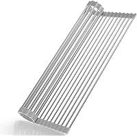 Roll-up disktorkställning - inget upptar utrymme förvara enkelt värmebeständigt upprullningsställ - passar för diskbänk…