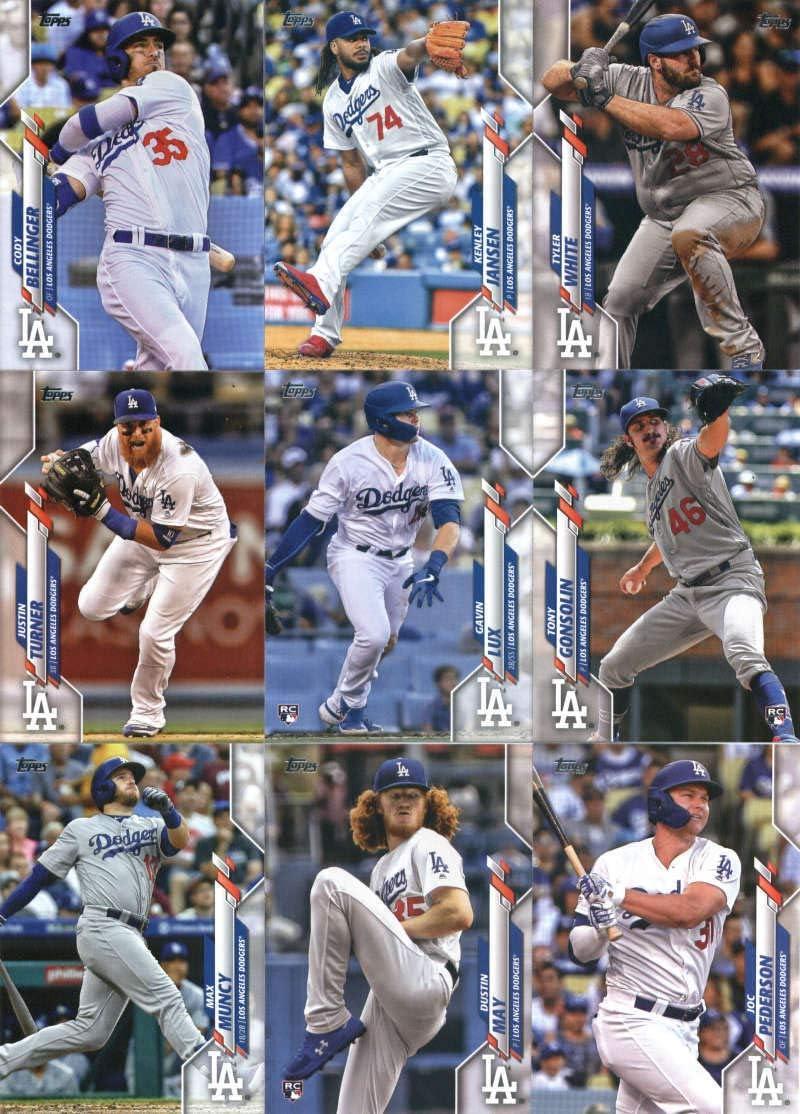#86 #118 2020 Topps Complete Los Angeles Dodgers Team Set of 29 Cards: Kenley Jansen Cody Bellinger #80 Kenta Maeda Alex Verdugo Series 1 /& 2 Joc Pederson Enrique Hernandez #24 #174 Austin Barnes #135 #50 #120 Hyun-Jin Ryu Clayton Kershaw