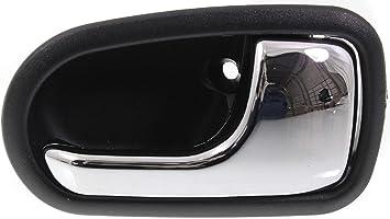 MAZDA 626 Protege 93-03 Front Rear RH LH Inner Chrome /& Beige Door Handle 4 set