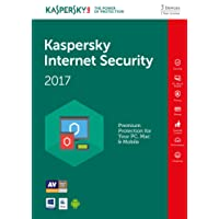 Kaspersky Internet Security 2017   3 Devices   1 Year   PC/Mac/Android   Download
