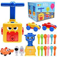 BAKAM Balloon Launcher Car Toy Set for Kids, Balloon Blaster Car Toy with Pump, Inertial Power Balloon Racing Car…